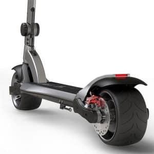 Wide Wheel Extreme Suspension - el løbehjul close up