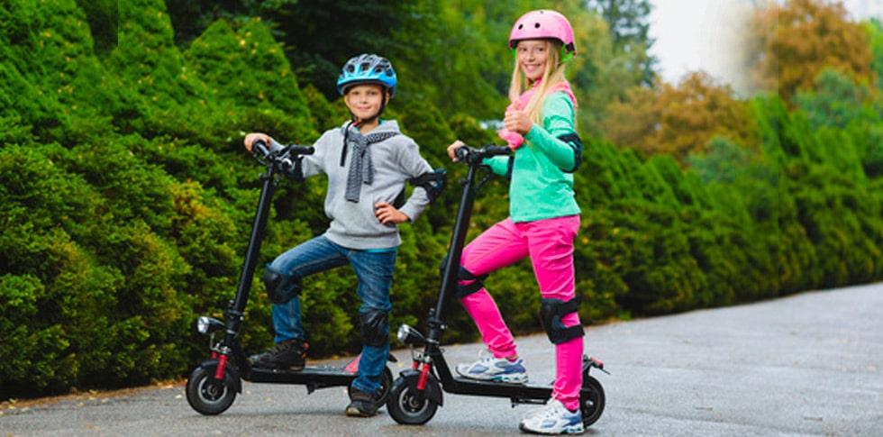 best el løbehjul til børn - elektriske løbehjul dreng og pige