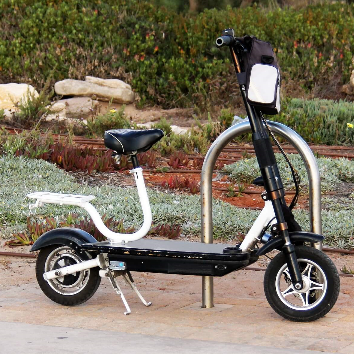 scooter with seat